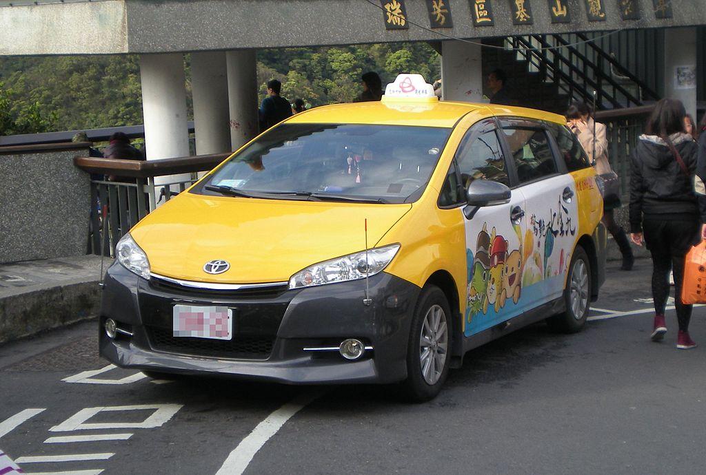 ウィッシュ台湾仕様車