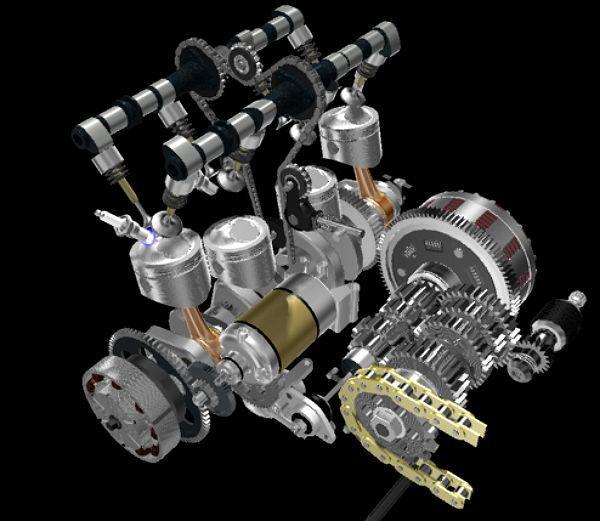 エンジン内部構造
