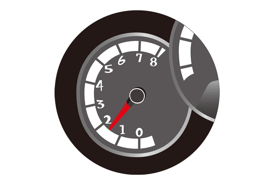 エンジン回転数と寿命の関係